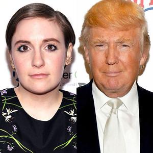 Donald Trump, Lena Dunham