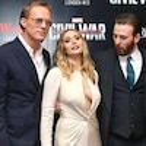 Paul Bettany, Elizabeth Olsen, Chris Evans