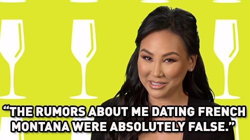Dorothy Wang Denies Dating French Montana  Morgan Stewart     E  Online