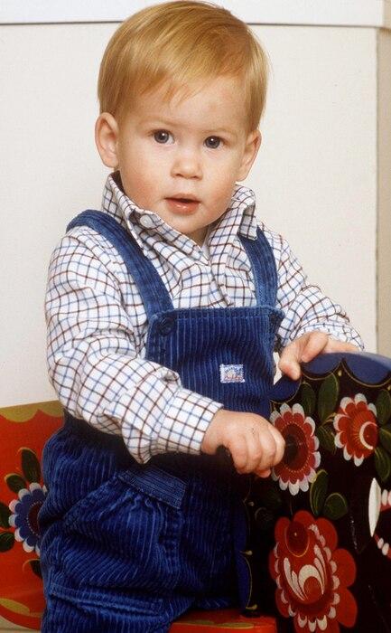 Prince Harry, Baby, 1985