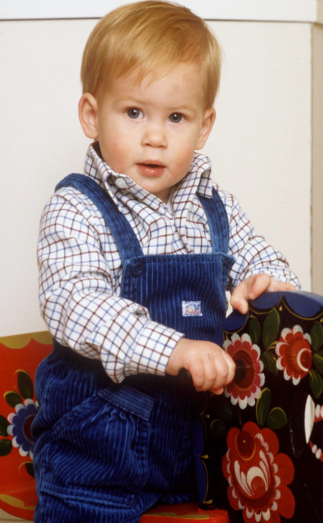 Prince Harry, Baby, 1985