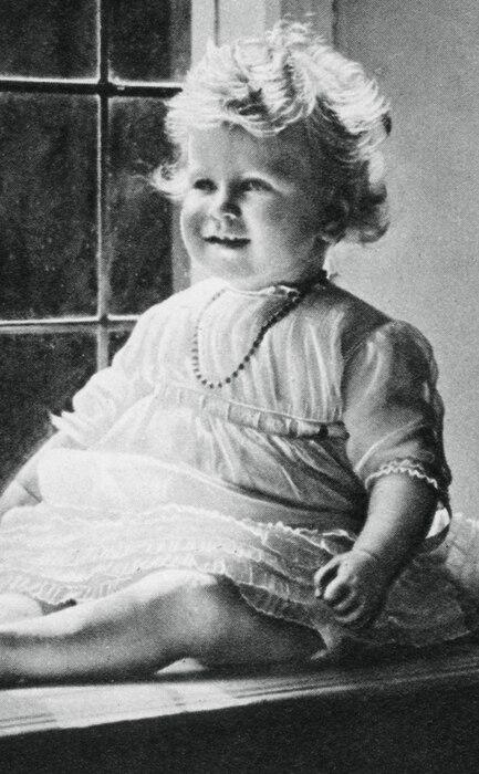 Queen Elizabeth, Princess Elizabeth, 1927