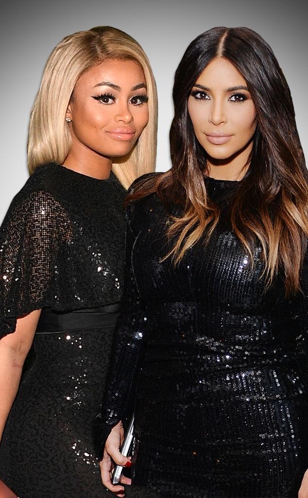 Blac Chyna, Kim Kardashian, Friends Gallery