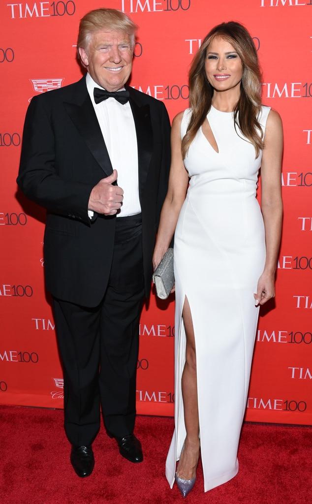 Donald Trump, Melania Trump, Time 100 Gala