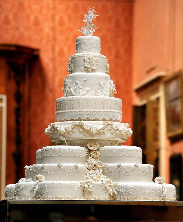 Royal Wedding Cake Prince William Duke Of Cambridge Catherine Ss