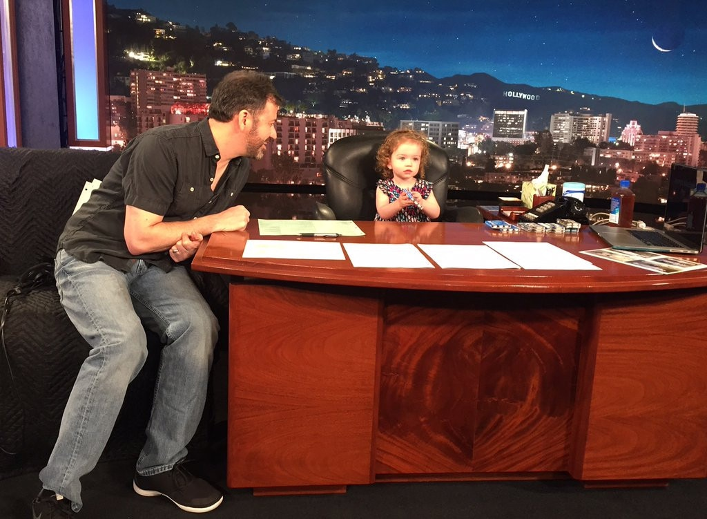 Jimmy Kimmel Replaced by Daughter Jane on Jimmy Kimmel ...