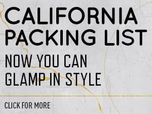 It List California, Glamping, Chloe Wilde