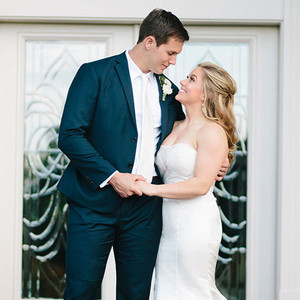 Shawn Johnson, Andrew East, Wedding