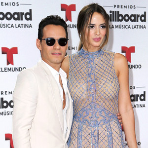 Marc Anthony, Shannon de Lima, 2016 Billboard Latin Music Awards