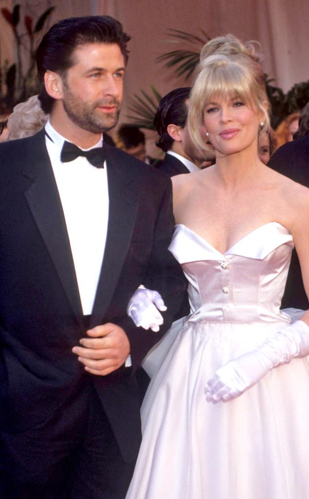 Alec Baldwin, Kim Basinger, 1991 Oscars