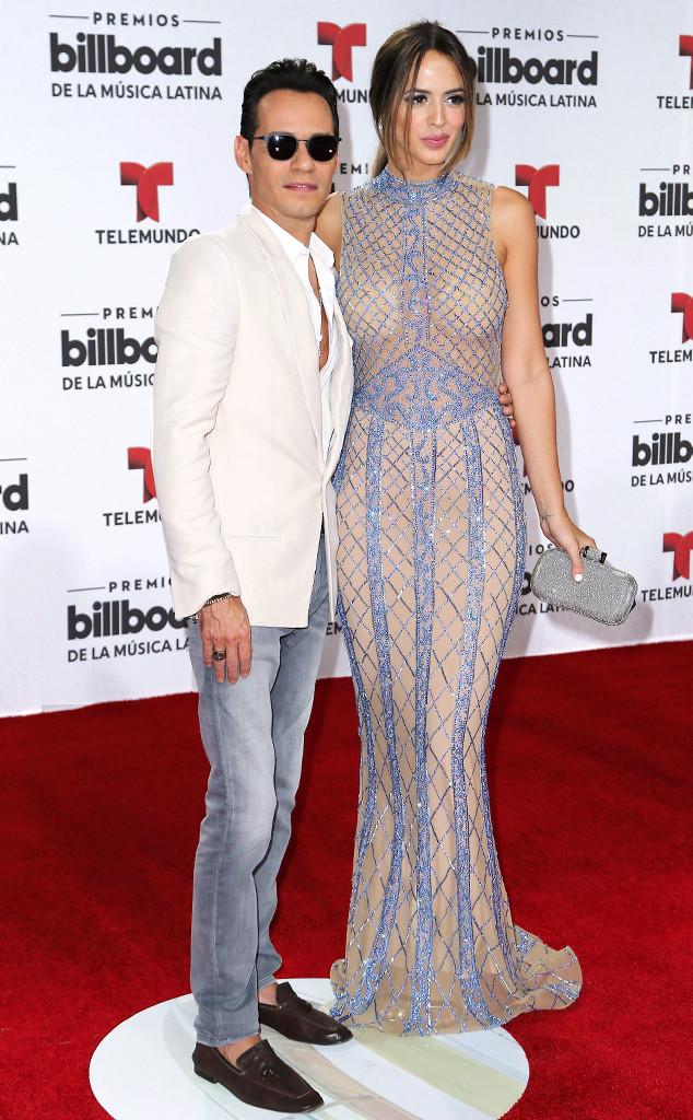 Marc Anthony, Shannon de Lima, 2016 Billboard Latin Music Awards