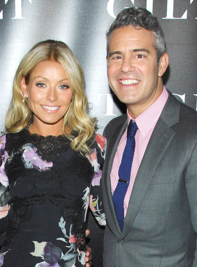 Kelly Ripa, Andy Cohen