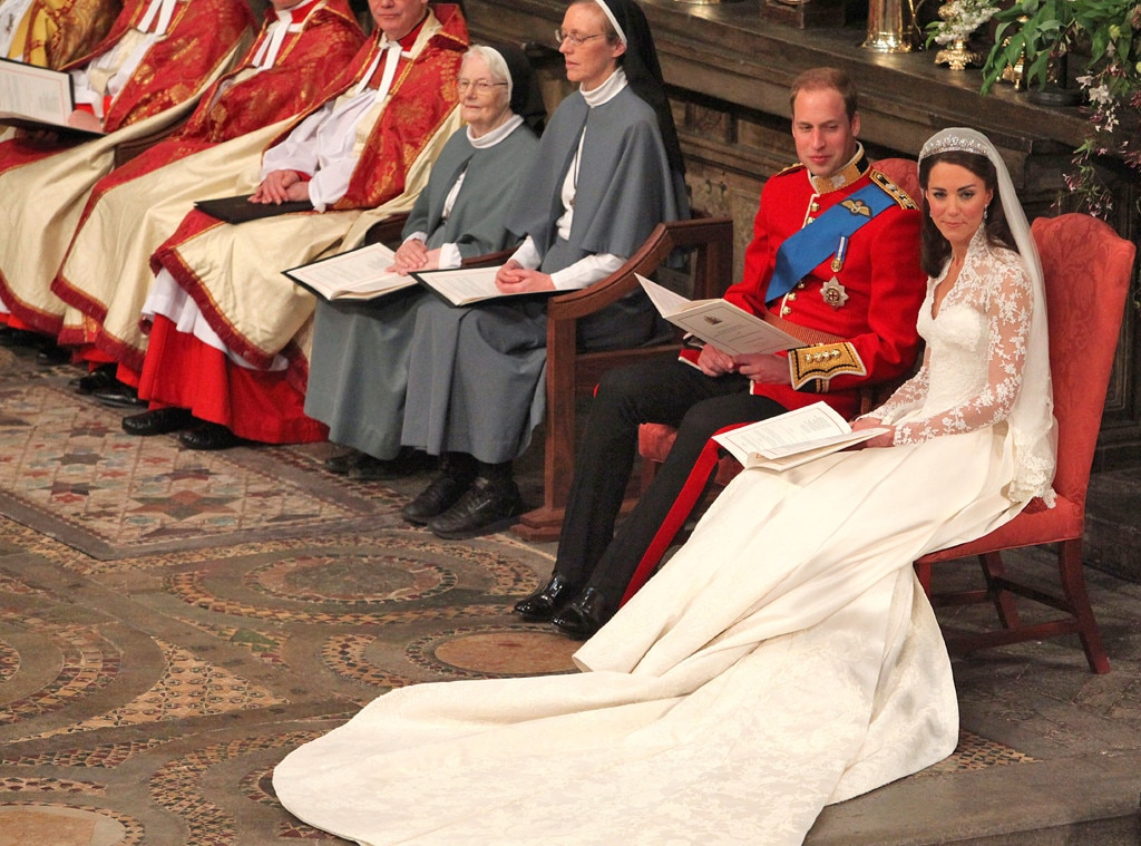 The Unsung Heroes From Prince William And Kate Middletons Royal Wedding From The Frowning