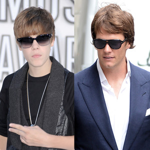 Justin Bieber, Tom Brady