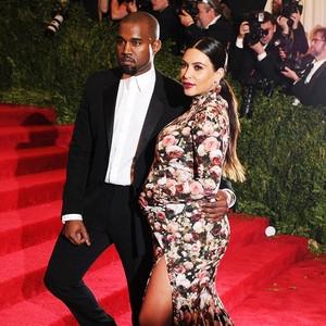 ESC: Met Gala Baby Bump, Kim Kardashian