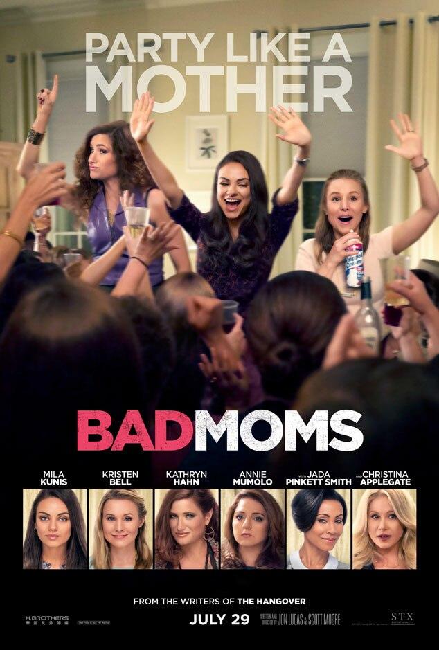 Bad Moms, Poster