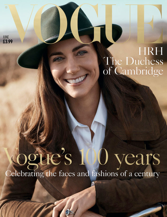 kate middleton is the picture of country chic in british vogue cover photo shoot