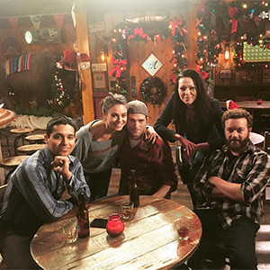 Ashton Kutcher, Mila Kunis, Laura Prepon, Danny Masterson, Wilmer Valderrama, That '70s Show Reunion Photo