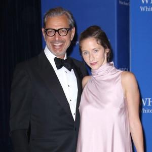 Jeff Goldblum, Emilie Livingston, White House Correspondents' Association Dinner