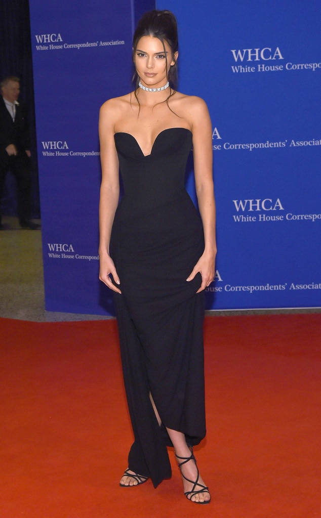 Kendall Jenner, White House Correspondents' Association Dinner