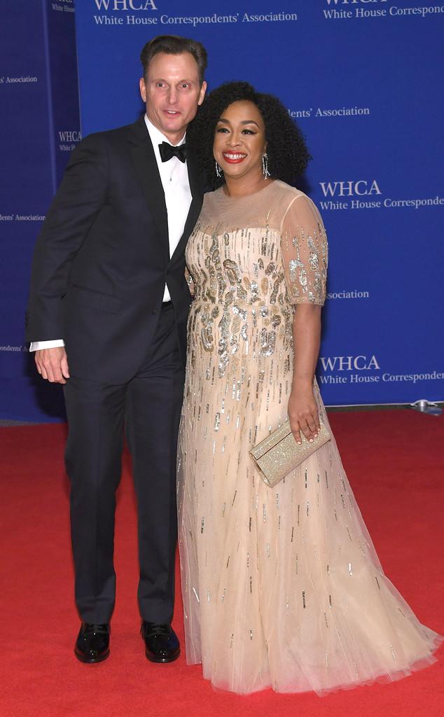 Tony Goldwyn & Shonda Rhimes From White House