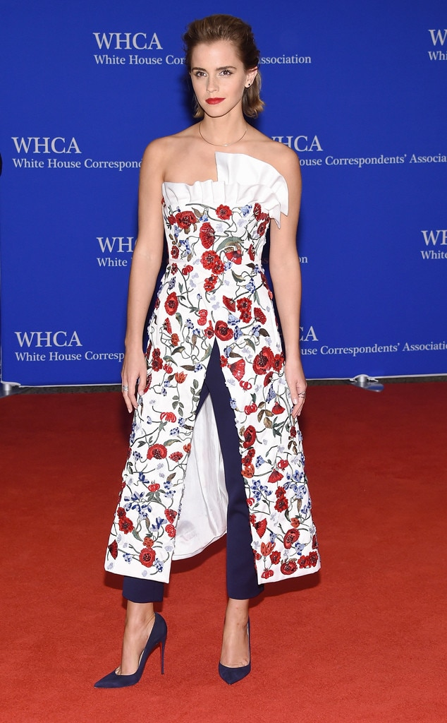 Emma Watson, White House Correspondents' Association Dinner