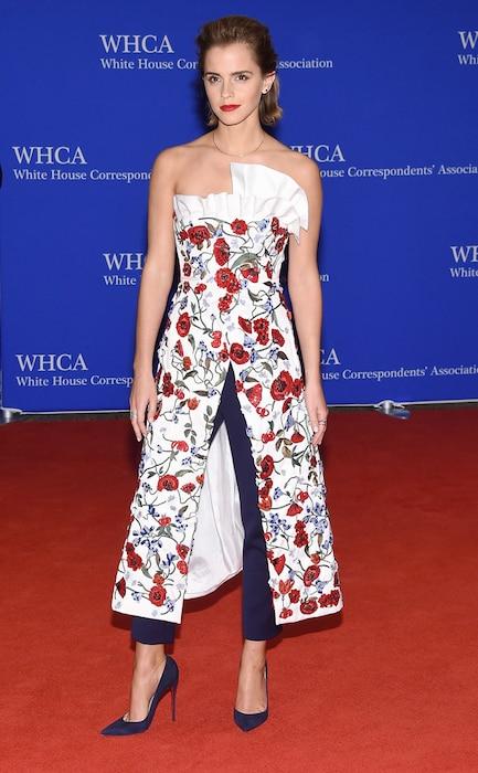 Emma Watson, White House Correspondents' Association Dinner
