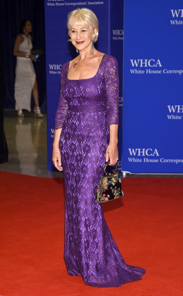Helen Mirren, White House Correspondents' Association Dinner