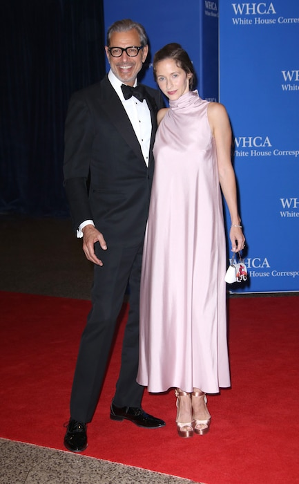 Jeff Goldblum, Emilie Livingston, White House Correspondents' Association Dinner