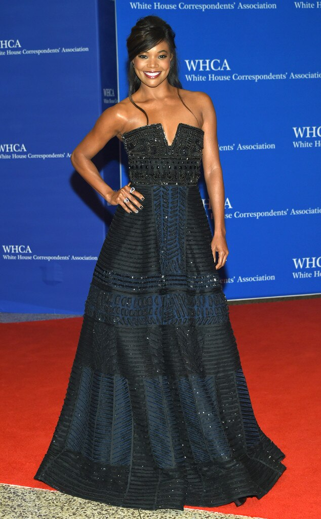 Gabrielle Union, White House Correspondents' Association Dinner