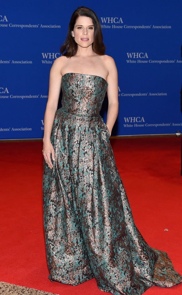 Neve Campbell, White House Correspondents Association Dinner