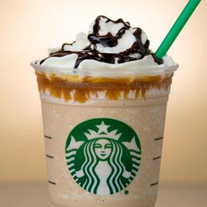 Starbucks Caramel Cocoa Cluster Frappuccino