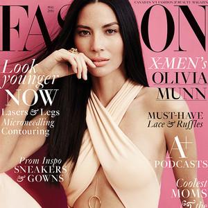 Olivia Munn, Fashion Magazine