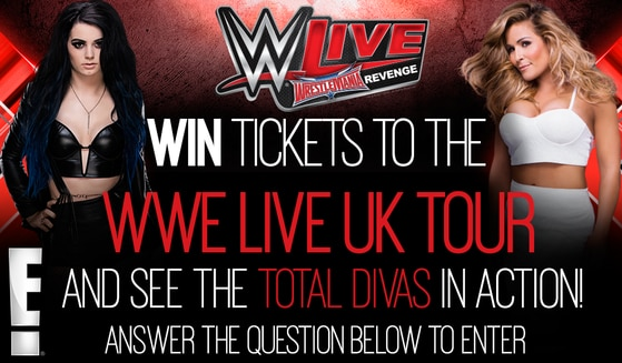 win tickets to the wwe live uk tour see the total divas in action e news uk. Black Bedroom Furniture Sets. Home Design Ideas
