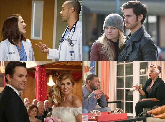 Grey's Anatomy, Once Upon a Time, Nashville, Black-ish