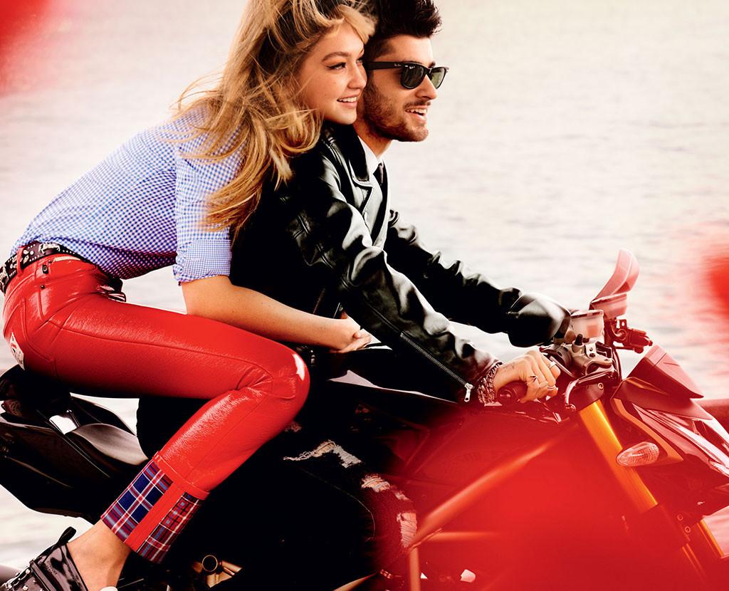 Gigi Hadid, Zayn Malik, Vogue