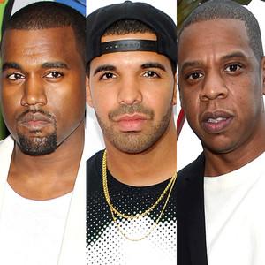 Kanye West, Drake, Jay Z