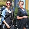 Behati Prinsloo, Chrissy Teigen, Pregnant