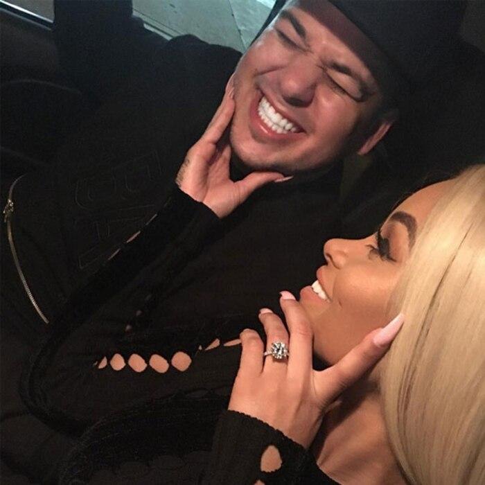 Rob Kardashian, Blac Chyna, Instagram, 600