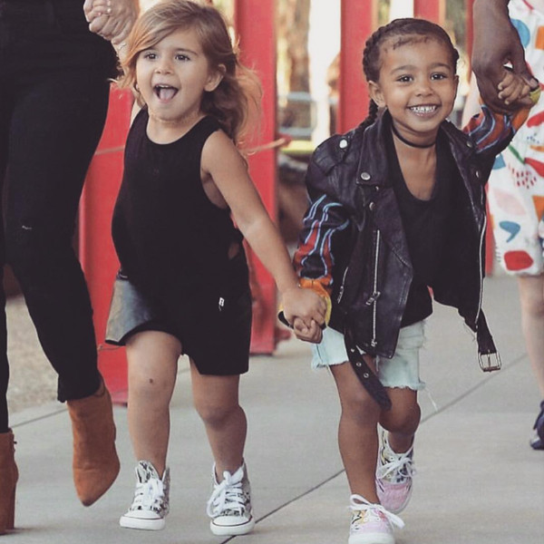 Kim Kardashian, North West, Penelope Disick