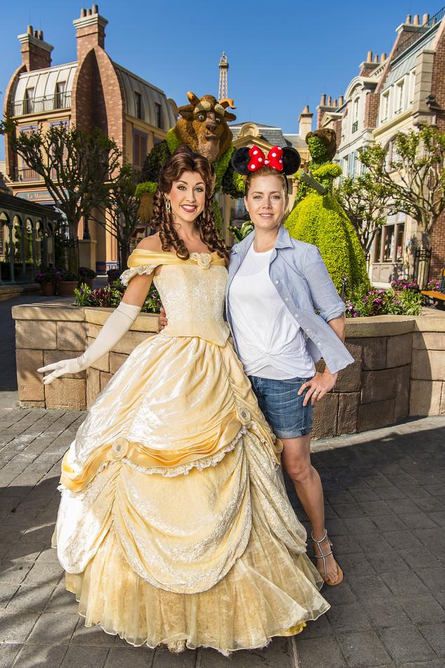 Amy Adams, Disney World