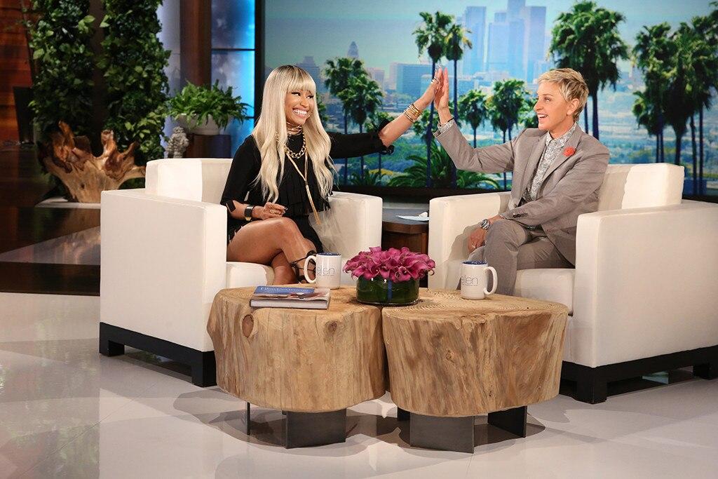 Nicki Minaj, Ellen DeGeneres