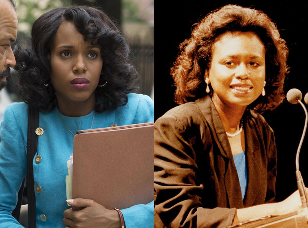 Confirmation Cast, Real Life, Kerry Washington, Anita Hill