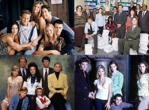 Friends, The Office, The Nanny, Buffy
