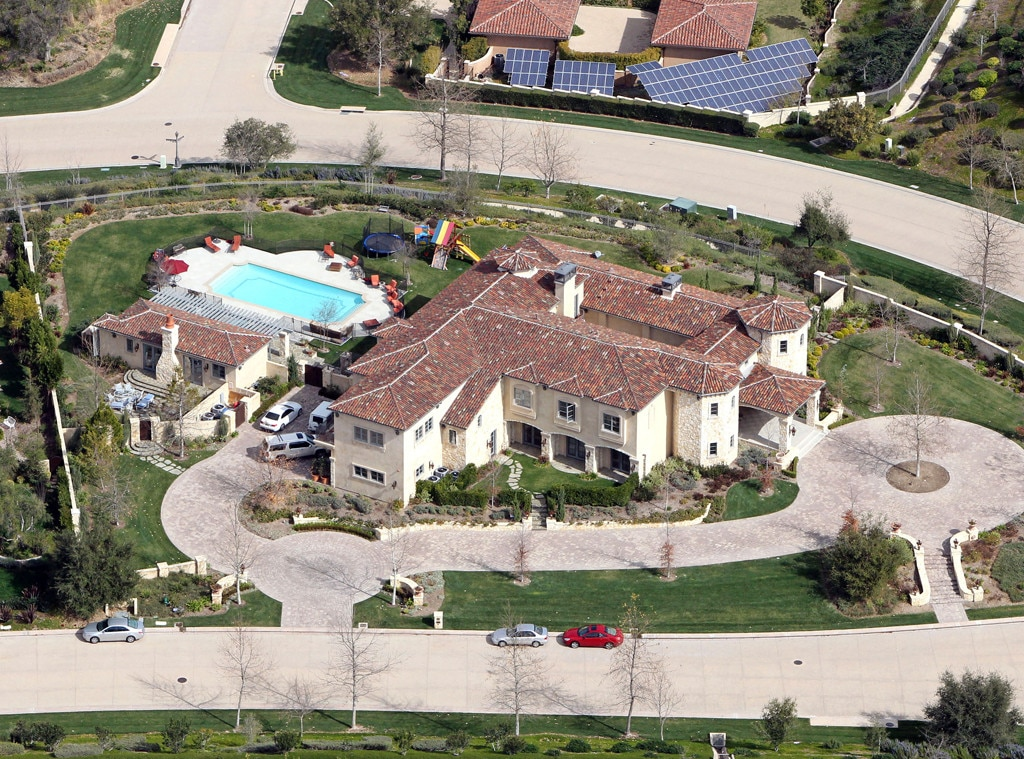 Britney Spears Calabasas mansion