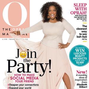 Oprah Winfrey, O Magazine, Social Media