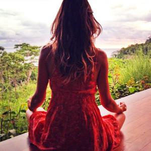 ESC: Gisele Bundchen, Meditation