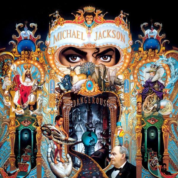 Michael Jackson, Dangerous, Album Cover
