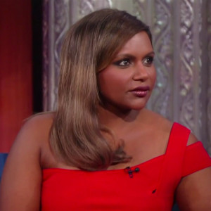 Mindy Kaling, The Late Show