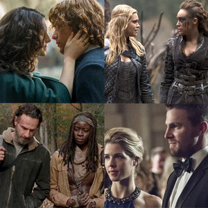 Best couple, Outlander, 100, Walking Dead, Arrow